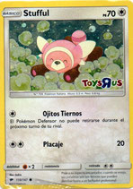 POKEMON CARTA INCOLORO 110/147 STUFFUL (HOLO)