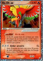POKEMON CARTA FUEGO 104/115 HO-OH EX (HOLO)