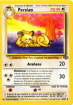 POKEMON CARTA 42/64 PERSIAN