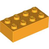 LEGO 3001 | 6100027 BLOQUE 2X4 NARANJA AMARILLENTO