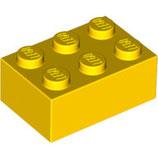 LEGO 3002 | 300224  BLOQUE 2X3 AMARILLO