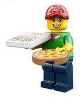 LEGO 71007 MINIFIGURA SERIE 12 Nº 11 REPARTIDOR PIZZA