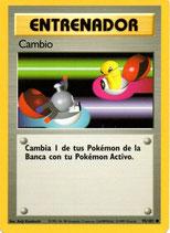 POKEMON CARTA ENTRENADOR 95/102 CAMBIO
