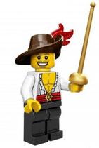 LEGO 71007 MINIFIGURA SERIE 12 Nº 13 MOSQUETERO