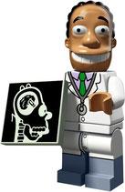 LEGO SIMPSONS 2 MINIFIGURA SERIE 71009 | 16 DOCTOR JULIUS HIBBERT