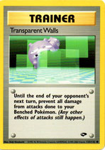 POKEMON CARTA ENTRENADOR 125/132 TRANSPARENT WALLS