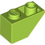 LEGO 3665 | 6030276 BLOQUE 1X2 TEJA INV VERDE AMARILLENTO BRILLANTE