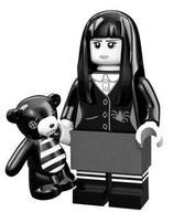 LEGO 71007 MINIFIGURA SERIE 12 Nº 16 CHICA FANTASMAGORICA