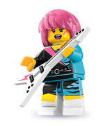 LEGO MINIFIGURA SERIE 7 | 15 ROCKERA