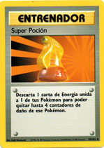 POKEMON CARTA ENTRENADOR 90/102 SUPER POCION