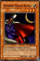 YUGIOH LUZ | 15150365 SOMBRERO MAGICO BLANCO DB1