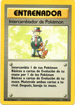 POKEMON CARTA ENTRENADOR 77/102 INTERCAMBIADOR POKEMON