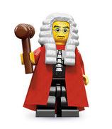LEGO MINIFIGURA SERIE 9 | Nº 10 JUEZ