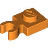 LEGO 60897 | 6055326 PLACA 1X1 C/ CLIP HORIZONTAL NARANJA BRILLANTE