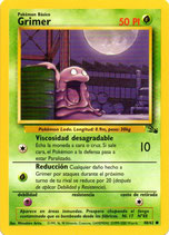 POKEMON CARTA PLANTA 48/62 GRIMER