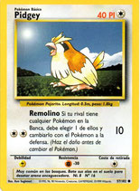 POKEMON CARTA 42/64 PIDGEY