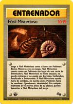 POKEMON CARTA ENTRENADOR 62/62 FOSIL MISTERIOSO 1º EDC