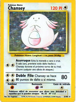 POKEMON CARTA INCOLORO 3/102 CHANSEY