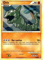 POKEMON CARTA FUERZA 57/95 ONIX