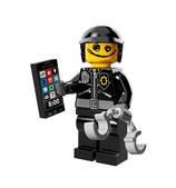 LEGO MOVIE MINIFIGURA SERIE 12 Nº 07 Policía Malo con Cara Pintada