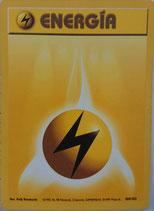 POKEMON CARTA ELECTRICO ENERGIA