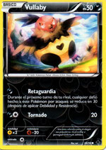POKEMON CARTA 68/98 VULLABY (HOLO)