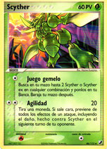 POKEMON CARTA PLANTA 46/115 SCYTHER