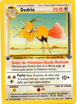 POKEMON CARTA 34/64 DODRIO 1º EDC