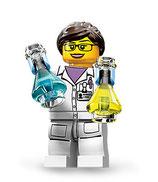 LEGO MINIFIGURA SERIE 11 | Nº 11 CIENTIFICA