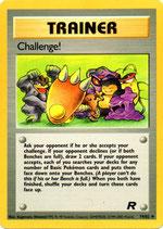POKEMON CARTA ENTRENADOR 74/82 CHALLENGE!