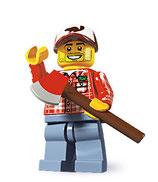 LEGO MINIFIGURA SERIE 5 | 08 LEÑADOR
