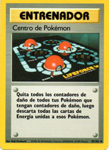 POKEMON CARTA ENTRENADOR 85/102 CENTRO POKEMON