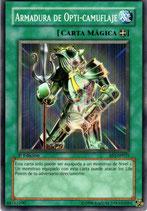 YUGIOH MAGICA | 44762290 ARMADURA DE OPTI-CAMUFLAJE (1º EDC) AST