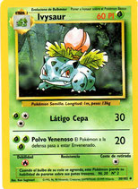 POKEMON CARTA PLANTA 30/102 IVYSAUR