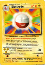 POKEMON CARTA ELECTRICO 21/102 ELECTRODE (USADA)