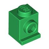 LEGO 4070 | 4187334 BLOQUE ANGULAR 1X1 W. 1 KNOB VERDE