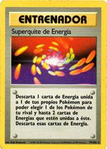 POKEMON CARTA ENTRENADOR 79/102 SUPERQUITE DE ENERGIA