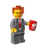 LEGO MOVIE MINIFIGURA SERIE 12 Nº 02 PRESIDENTE DE NEGOCIOS