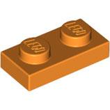 LEGO 3023 | 4177932 PLACA 1X2 NARANJA BRILLANTE