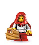 LEGO MINIFIGURA SERIE 7 | 16 CAPERUCITA ROJA