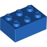 LEGO 3002 | 300223  BLOQUE 2X3 AZUL