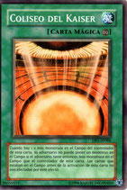 YUGIOH MAGICA | 35059553 COLISEO DEL KAISER DR3