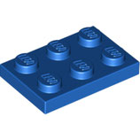 LEGO 3021 | 302123 PLACA 2X3 AZUL BRILLANTE