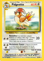 POKEMON CARTA 22/102 PIDGEOTTO