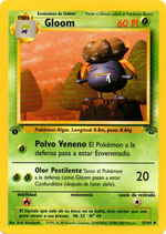 POKEMON CARTA PLANTA 37/64 GLOOM 1º EDC