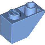 LEGO 3665 | 4598015 BLOQUE 1X2 TEJA INV AZUL MEDIO