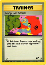 POKEMON CARTA ENTRENADOR 78/82 GOOP GAS ATTACK