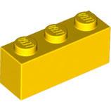 LEGO 3622 | 362224  BLOQUE 1X3 AMARILLO