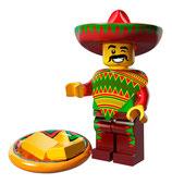 LEGO MOVIE MINIFIGURA SERIE 12 Nº 12 Tipo de los Martes de Tacos