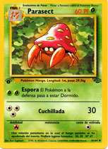 POKEMON CARTA PLANTA 41/64 PARASECT 1º EDC